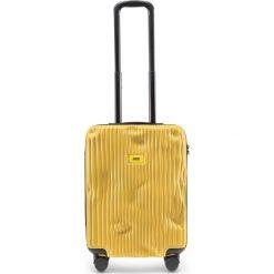 Walizka Stripe kabinowa Mustard Yellow. Żółte walizki Crash Baggage, małe. Za 1049,00 zł.