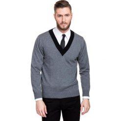 Sweter 14-92SR  NESTORE. Białe swetry klasyczne męskie Giacomo Conti, na jesień, m, z wełny. Za 199,00 zł.