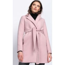 Płaszcze damskie: Różowy Płaszcz Heartbeats