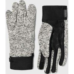Columbia - Rękawiczki. Szare rękawiczki męskie Columbia, z dzianiny. W wyprzedaży za 99,90 zł.