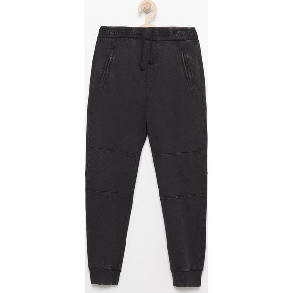 Spodnie chłopięce: Spodnie dresowe - Czarny