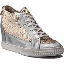 Sneakersy SENSO - 145868-7 Cekin Złoto. Szare sneakersy damskie Senso, z nubiku. W wyprzedaży za 259,00 zł.