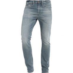 Denham BOLT Jeans Skinny Fit sza. Czarne rurki męskie Denham, z bawełny. Za 839,00 zł.