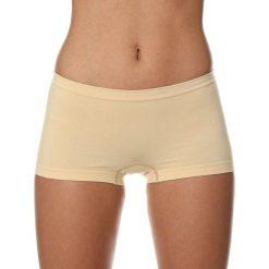 Bokserki damskie: Brubeck Bokserki damskie Comfort Cotton beżowe r. XL (BX10470A)