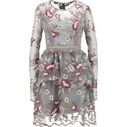 Sukienki hiszpanki: True Decadence Sukienka koktajlowa grey/burgundy