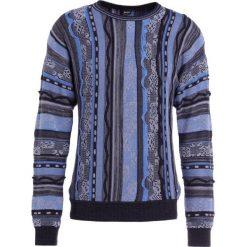 BOSS CASUAL KANIZAY Sweter dark blue. Niebieskie kardigany męskie marki BOSS Casual, l, z bawełny. W wyprzedaży za 374,50 zł.