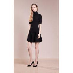 MICHAEL Michael Kors FLARE  Sukienka dzianinowa black. Czarne sukienki dzianinowe marki MICHAEL Michael Kors, l. W wyprzedaży za 395,60 zł.