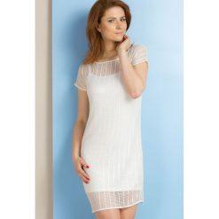 Sukienki: Ażurowa sukienka na lato