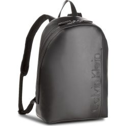 Plecak CALVIN KLEIN BLACK LABEL - Elevated Logo Backpack K50K503612  001. Czarne plecaki damskie Calvin Klein Black Label. Za 649,00 zł.
