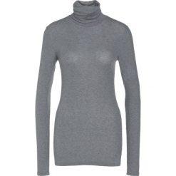 Swetry klasyczne damskie: Bruuns Bazaar ANGELA ROCK NECK Sweter light grey