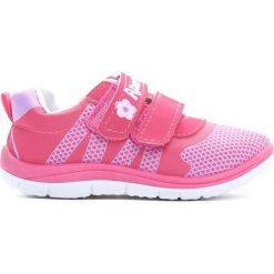 Różowe Buty Sportowe Beat It. Czerwone buciki niemowlęce chłopięce Born2be, z okrągłym noskiem. Za 39,99 zł.