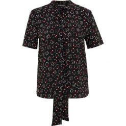 Emporio Armani Bluzka nero. Czarne bluzki asymetryczne Emporio Armani, z elastanu. Za 609,00 zł.