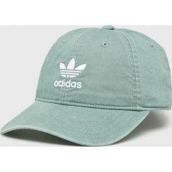 Adidas Originals - Czapka. Szare czapki z daszkiem męskie adidas Originals, z bawełny. Za 89,90 zł.