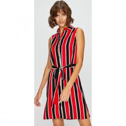 Answear - Sukienka. Szare sukienki mini marki ANSWEAR, na co dzień, m, z tkaniny, casualowe, proste. W wyprzedaży za 89,90 zł.