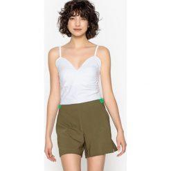 Bluzki damskie: Koszulka na cienkich ramiączkach sprawiająca wrażenie bielizny