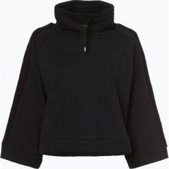 Puma - Damska bluza nierozpinana, czarny. Czarne bluzy rozpinane damskie Puma, s, z aplikacjami, z futra. Za 289,95 zł.