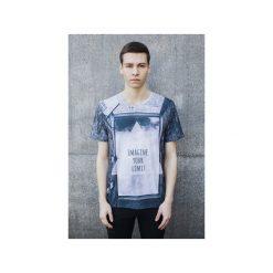 T-shirt Imagine Your Limit. Niebieskie t-shirty męskie z nadrukiem Bahabay, m, z bawełny. Za 83,30 zł.