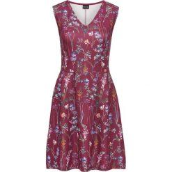 Sukienki: Sukienka z dżerseju bonprix czerwony rododendron w kwiaty