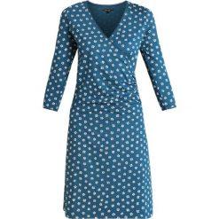 King Louie CROSS DRESS LENNOX Sukienka z dżerseju dive blue. Niebieskie sukienki z falbanami King Louie, s, z dżerseju. Za 399,00 zł.