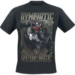 Venom (Marvel) Symbiotic Revenge T-Shirt czarny. Czarne t-shirty męskie z nadrukiem Venom (Marvel), m, z okrągłym kołnierzem. Za 74,90 zł.