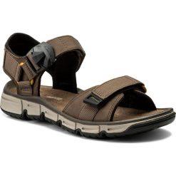 Sandały CLARKS - Explore Part 261246437 Mushroom Nubuck. Brązowe sandały męskie skórzane marki Clarks. W wyprzedaży za 259,00 zł.
