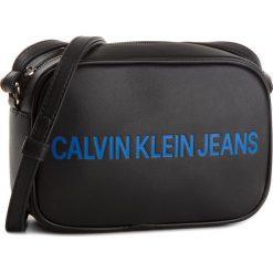 Listonoszki damskie: Torebka CALVIN KLEIN JEANS – Sculped Camera Bag K40K400385 001