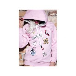 Bluza Milion Dollar Baby. Czarne bluzy niemowlęce marki ŁAP NAS, l, z aplikacjami, z bawełny. Za 189,00 zł.