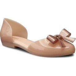 Półbuty MELISSA - Angel Ad 31859 Light Pink 01822. Brązowe półbuty damskie marki Melissa, z tworzywa sztucznego, na obcasie. W wyprzedaży za 189,00 zł.