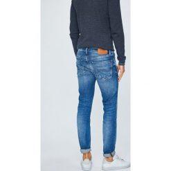 Tommy Jeans - Jeansy. Niebieskie jeansy męskie slim marki Tommy Jeans, z bawełny. Za 499,90 zł.