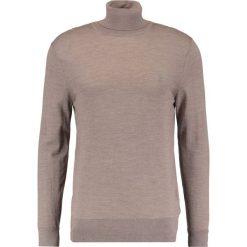 Swetry klasyczne męskie: AllSaints ROLL NECK Sweter tawny brown marl