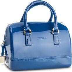 Torebka FURLA - Candy 941237 B BAS8 PL0 Blu Pavone d. Niebieskie kuferki damskie marki Furla. Za 880,00 zł.