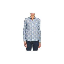 Koszule Gant  L. WHITE LILY VOILE. Niebieskie koszule damskie GANT. Za 239,60 zł.