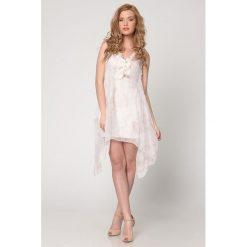 Odzież damska: Sukienka Isabel Queen w kolorze białym