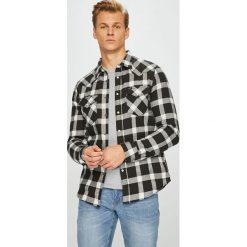 Lee - Koszula. Szare koszule męskie na spinki Lee, l, w kratkę, z bawełny, z klasycznym kołnierzykiem, z długim rękawem. Za 199,90 zł.