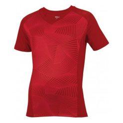 Wilson Koszulka Sportowa B Solana Geo Crew Terra Red S. Czerwone koszulki do fitnessu męskie Wilson, m, ze skóry. W wyprzedaży za 61,00 zł.