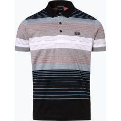 BOSS Athleisurewear - Męska koszulka polo – Paddy 3, czarny. Czarne koszulki polo BOSS Athleisurewear, l, w paski, z bawełny. Za 479,95 zł.