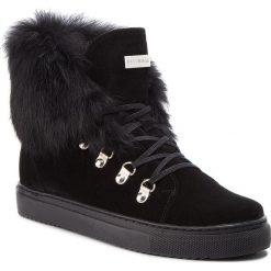 Sneakersy EVA MINGE - Cangas 4F 18BD1372642EF  801. Czarne sneakersy damskie Eva Minge, z materiału. W wyprzedaży za 409,00 zł.
