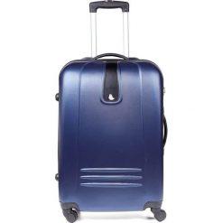 Walizka na kółkach podróżna średnia M104. Szare walizki Meblejana, średnie. Za 115,00 zł.