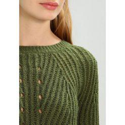 Swetry damskie: Vila VISALONA  Sweter chive