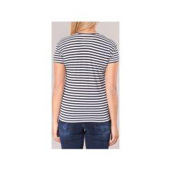 T-shirty z krótkim rękawem Superdry  VINTAGE LOGO STRIPE. Niebieskie t-shirty damskie Superdry, l. Za 111,80 zł.