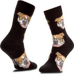 Skarpety Wysokie Męskie FREAK FEET - LBUL-BL Czarny. Czarne skarpetki męskie marki Freak Feet, z bawełny. Za 19,90 zł.