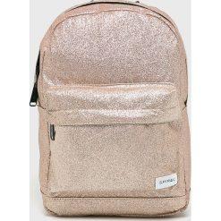 Spiral - Plecak Gold Glitter. Szare plecaki damskie Spiral, z poliesteru. W wyprzedaży za 99,90 zł.
