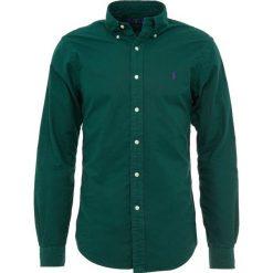 Polo Ralph Lauren OXFORD SLIM FIT Koszula college green. Szare koszule męskie slim marki Polo Ralph Lauren, l, z bawełny, button down, z długim rękawem. Za 459,00 zł.