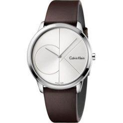 ZEGAREK CALVIN KLEIN MINIMAL K3M211G6. Szare zegarki męskie marki Calvin Klein, szklane. Za 769,00 zł.