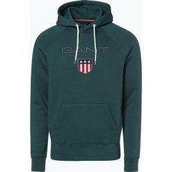 Gant - Męska bluza nierozpinana, zielony. Zielone bejsbolówki męskie GANT, m, z haftami. Za 449,95 zł.