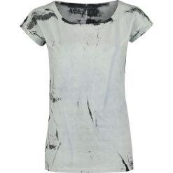 Bluzki asymetryczne: Outer Vision Marilyn Bleach Spray Koszulka damska biały