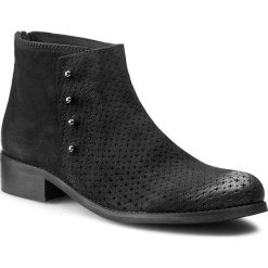 Botki WITTCHEN - 81-D-305-1 Nero. Czarne buty zimowe damskie Wittchen, ze skóry, eleganckie, na obcasie. W wyprzedaży za 409,00 zł.