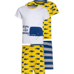 Mothercare BOYS WHALE SHORTIE 2 PACK  Piżama yellow. Niebieskie bielizna chłopięca marki mothercare, z bawełny. Za 129,00 zł.