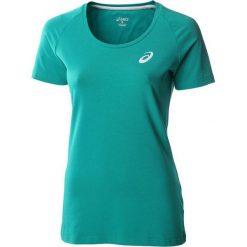 Asics Koszulka Short Sleeve Top zielony r. L (130809-5009). Niebieskie topy sportowe damskie marki Asics, m, z elastanu. Za 34,94 zł.