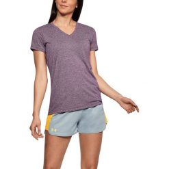 Under Armour Koszulka damska Threadborne Train SSV Twist fioletowa r. S (1289650-564). T-shirty damskie Under Armour, s. Za 84,64 zł.